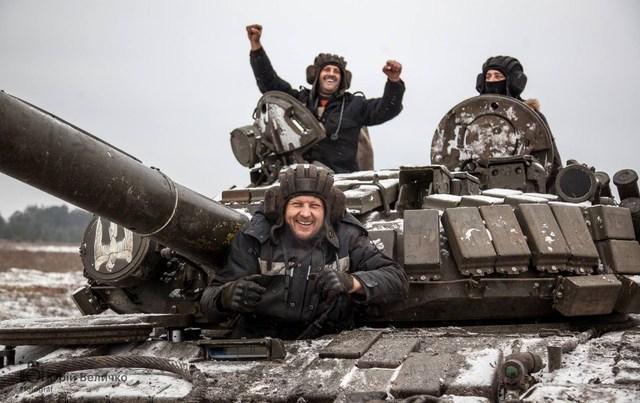 Бойцы АТО взяли новые позиции на Светлодарской дуге