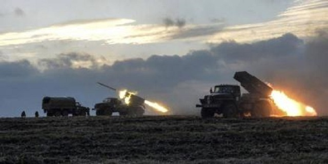 «Грады» и тяжелая артиллерия. Оккупанты обстреливают силы АТО по всем направлениям
