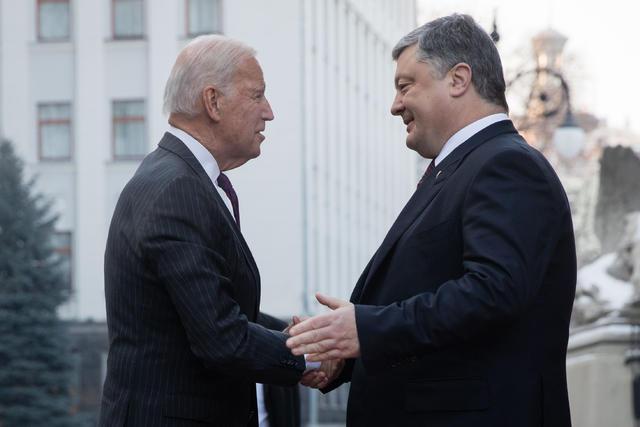 Начались переговоры Байдена и Порошенко, - Цеголко