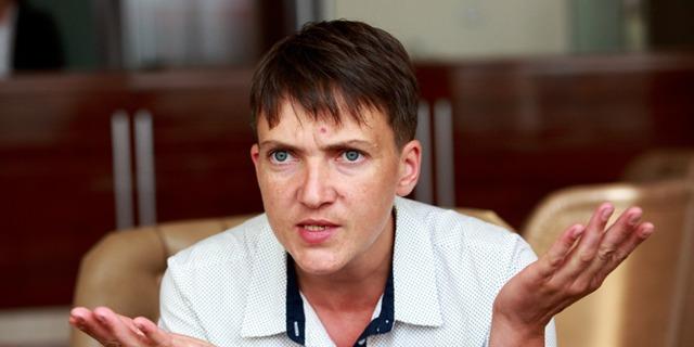 Савченко предложила временно отказаться от Крыма