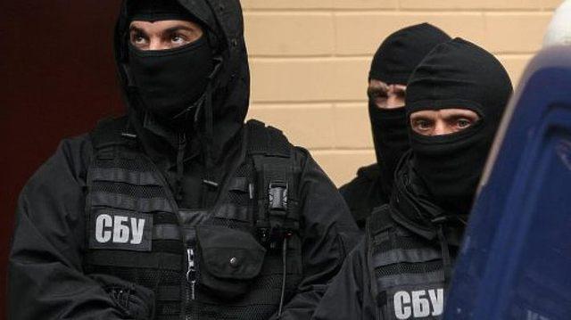 Сотрудники СБУ проводят обыск в офисе «Киевавтодора»
