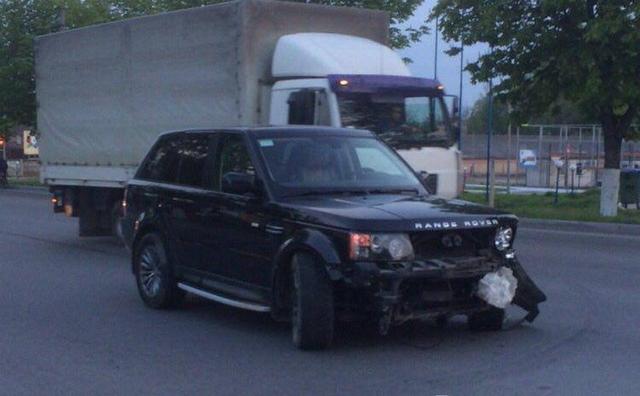 В Тернополе пьяный ректор университета на Range Rover спровоцировал ДТП и сбежал