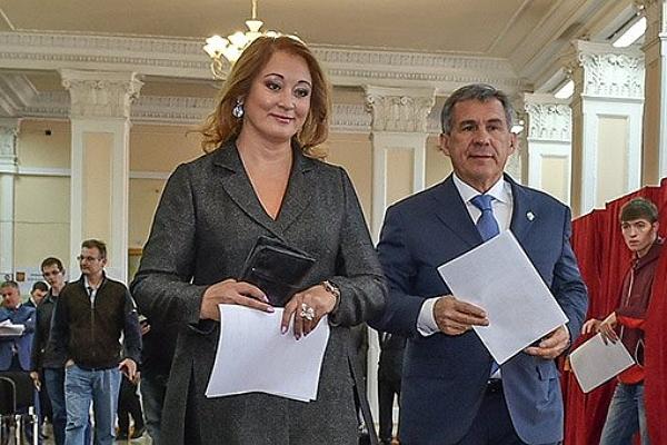Жена президента Татарстана заработала в 2016 году 2,35 миллиарда рублей