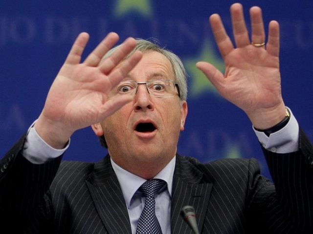 Пьяный глава Еврокомиссии поцеловал Шульца в темя и раздавал пощечины