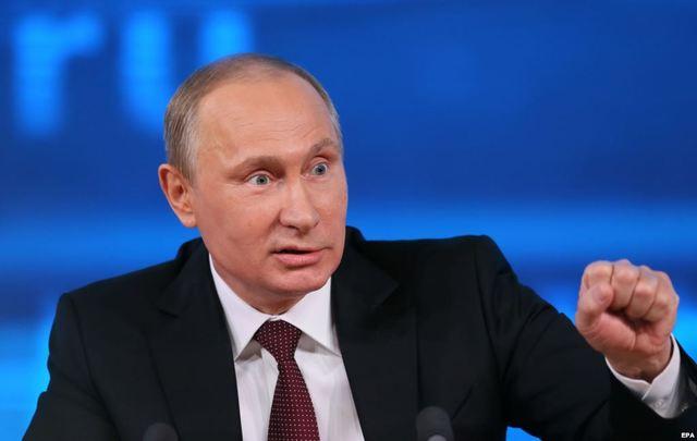 Путин опозорился во время матча Ночной хоккейной лиги