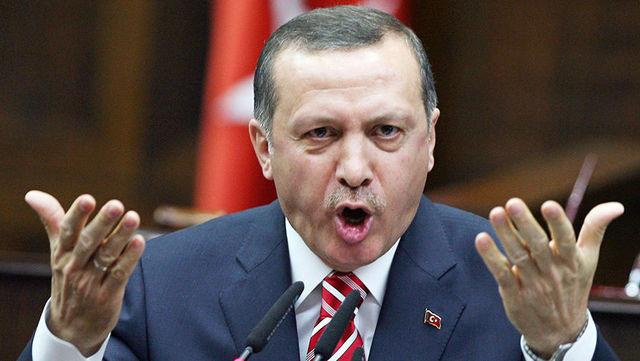 Появилось видео, как Эрдоган наблюдает за побоищем с участием своей охраны в США