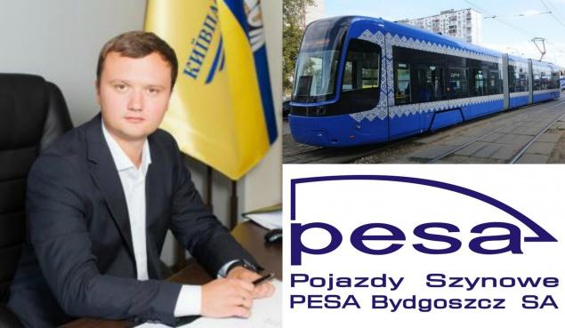 """Полная """"Pesa"""". """"Киевпастранс"""" планирует на 2 млрд гривен закупить опасные для жизни трамвайные вагоны"""