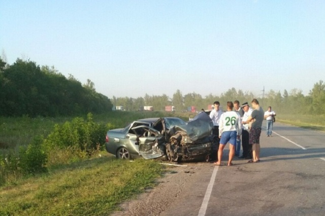 Под Липецком полицейский спровоцировал ДТП с тремя погибшими