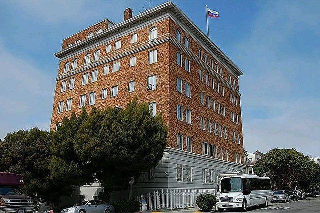 В торговом представительстве России в Вашингтоне начались обыски