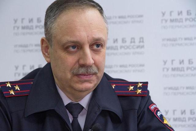 Главу УГИБДД Пермского края задержали при получении взятки