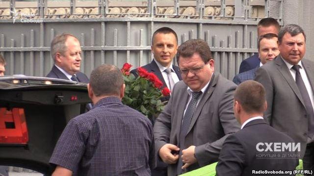 Журналисты заметили кандидатов в Верховный суд на юбилее Гелетея