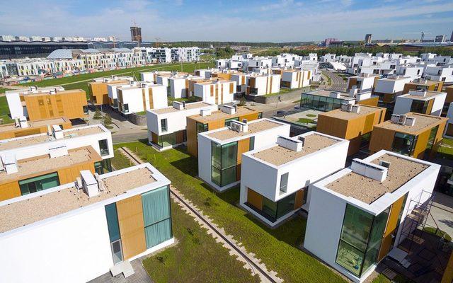 Жилые кварталы в  «Сколково»