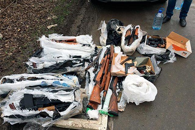 Полицейский украл из отдела сотни стволов на миллионы рублей