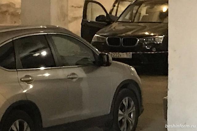 Бизнесмену выстрелили в голову на подземной парковке в Уфе