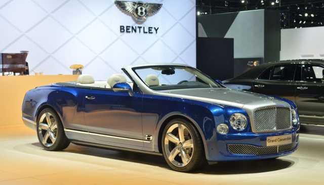 В Эмиратах обнаружили единственный в мире Bentley Mulsanne стоимостью $3,5 млн