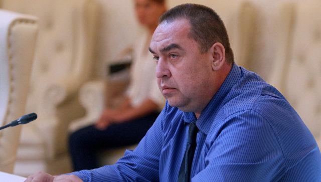 Глава ЛНР подал заявление об отставке