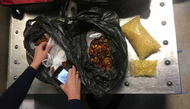 В аэропорту «Борисполь» задержали турка с контрабандным янтарем на $60 тысяч