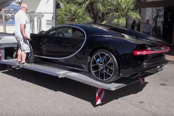 Россиянина лишили возможности покататься на купленном Bugatti