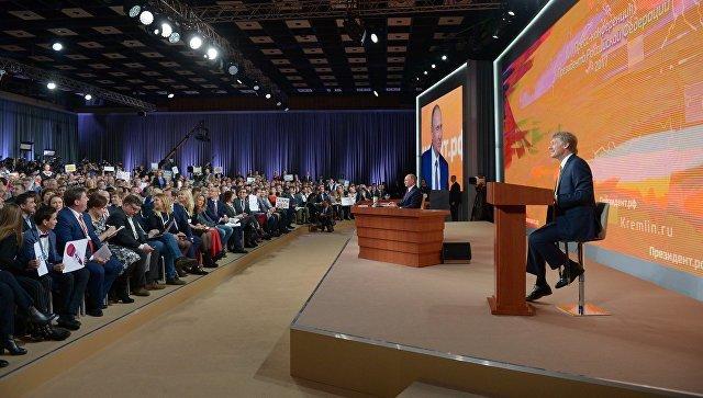 Таня Фельгенгауэр: журналистикой на пресс-конференции Путина даже и не пахнет