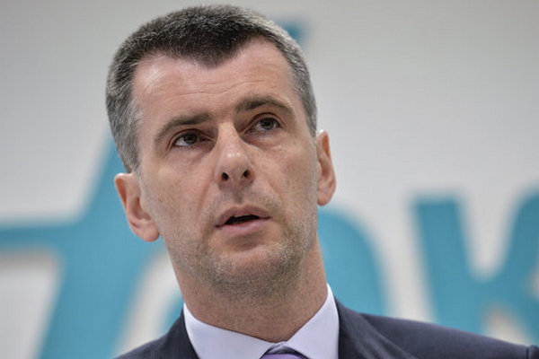 Счета миллиардера Прохорова заморозили на Кипре