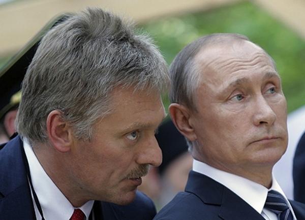 Песков побаивается назвать главного спонсора Путина