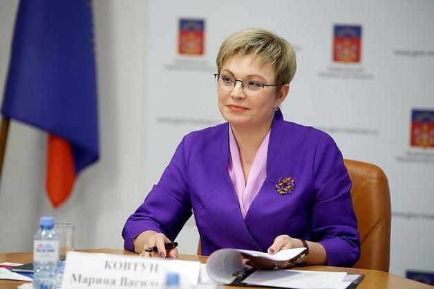 Губернатора Марину Ковтун ждёт новый «срок»?