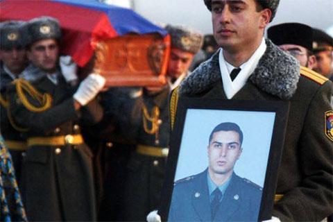 Похороны Гургена Маркаряна