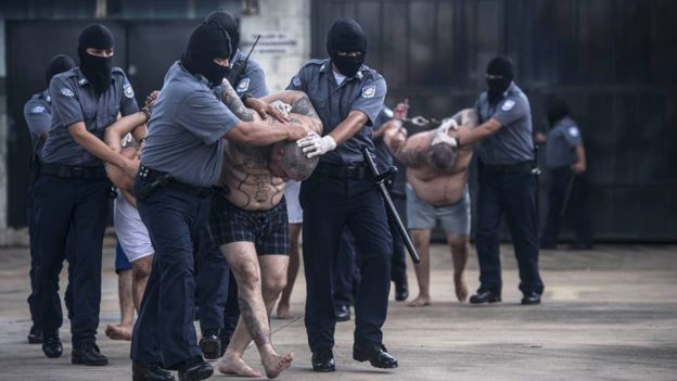 Арест членов банды