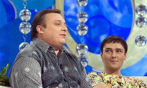 Слева: Андрей Разин и Юра Шатунов