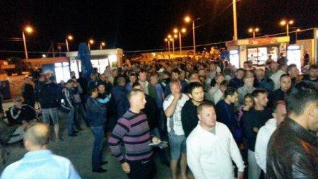 Россияне не могут попасть в Крым. ФОТО