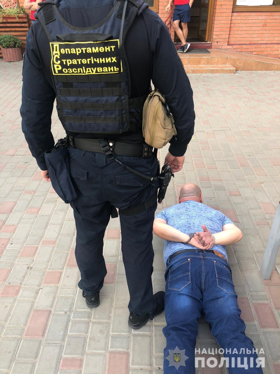 Задержанный участник сети подкупа избирателей