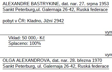 Следственный, комитет, Бастрыкин, новости, жена, Чехия, Прага, Law Bohemia s.r.o., Захарченко, Шутенко, бенефициары