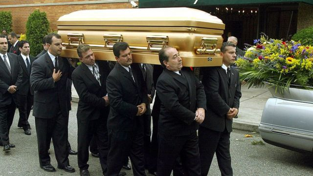 Похороны Джона Готти