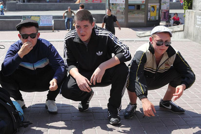 Веселые гоп-выходные на улице Победы