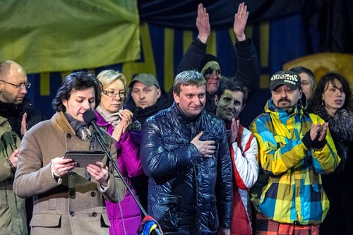 Павел Петренко на Евромайдане