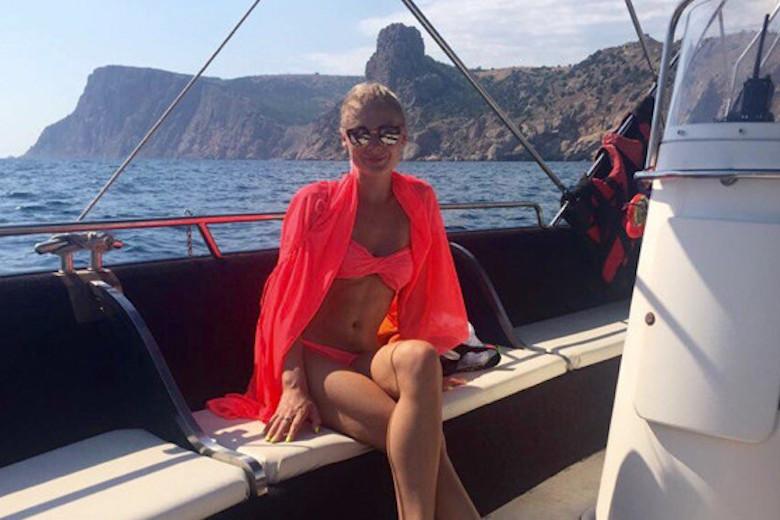 Анна Тимченко на отдыхе