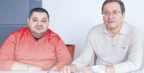 А.М. Грановский и Андрей Адамовский