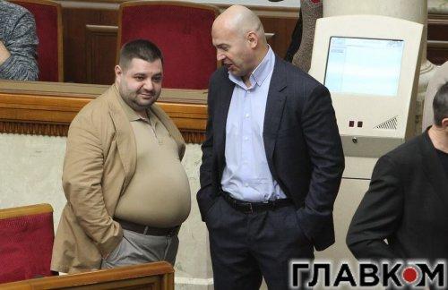 Александр Грановский и Игорь Кононенко В Верховной Раде