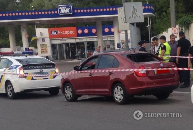 нападение Киев