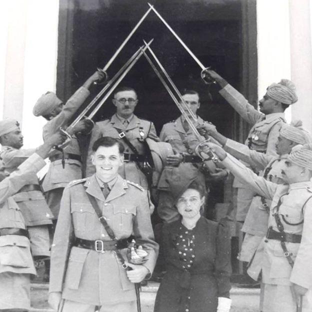 Свадьба Тома и Бидди Дайкс в 1940 году