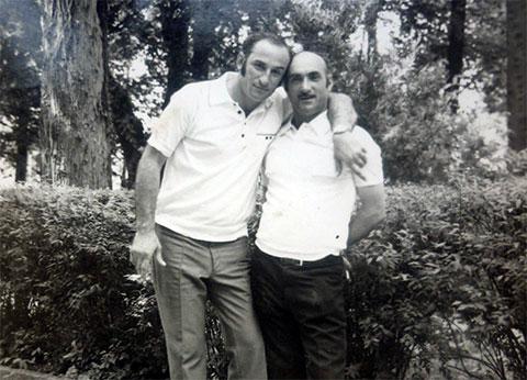 Слева воры в законе: Рауль Гогилава (Рауль Сухумский) и Константин Салакая (Кот Очамчирский)
