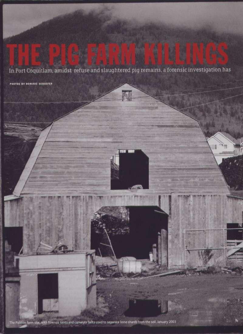 убийца-свинопас канадский маньяк-убийца роберт пиктон robert pickton muderer отвратительные мужики disgusting men