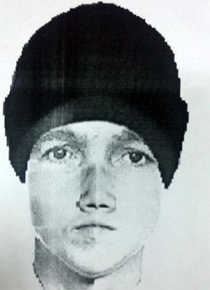 Фоторобот предполагаемого убийцы Дениса Чернова