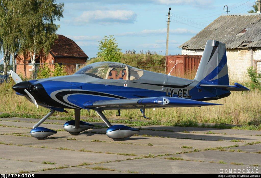 Самолет RV-7A