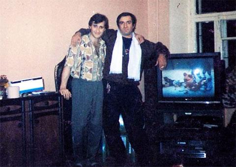 Слева воры в законе: Камо Егиазаров (Камо Московский) и Реваз Цицишвили (Цицка)