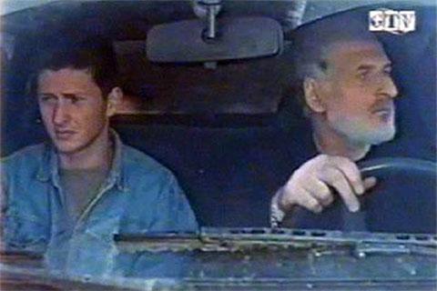 Ник Харабадзе с отцом Георгием Харабадзе в художественном фильме «Эльза»