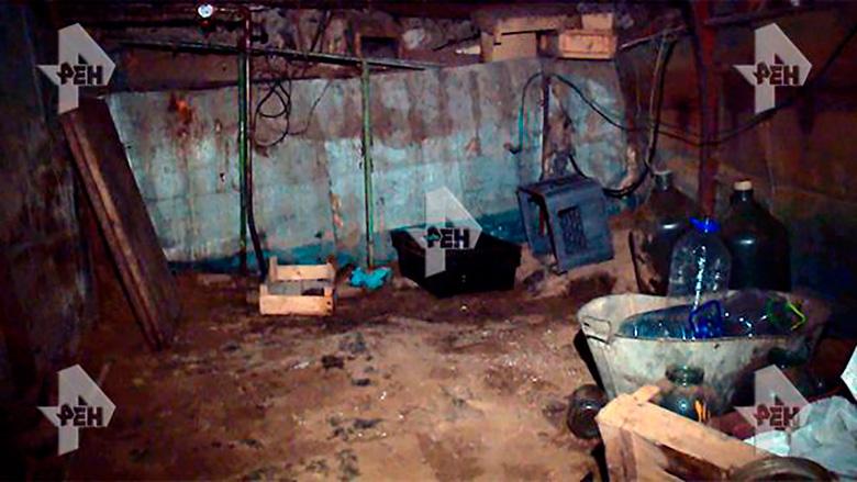 Подвал где пытали Пастушкова