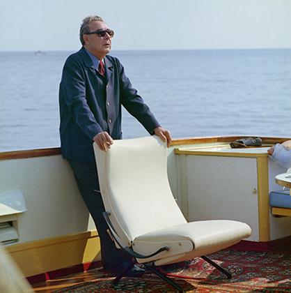 Леонид Брежнев в Крыму, 1973 год