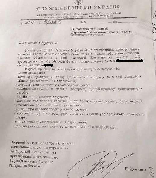 СБУ начала искать компромат на Гройсмана