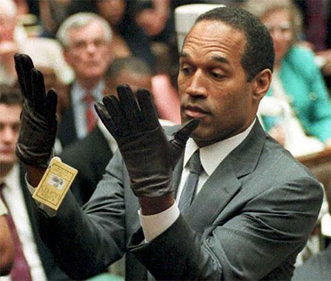 О Джей Симпсон на суде